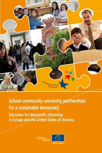 School–community–university partnerships for a sustainable ...