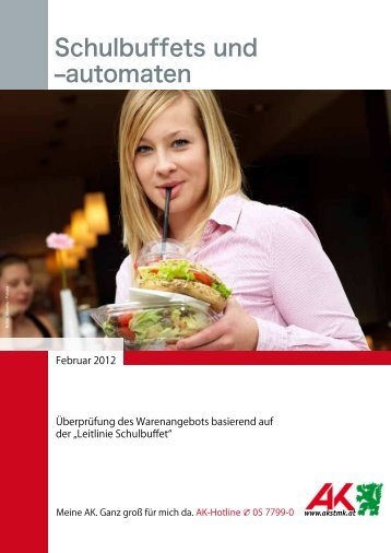 """Studie """"Schulbuffets und -automaten"""" (pdf)"""