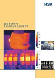 Infrared Thermography for predictive maintenance