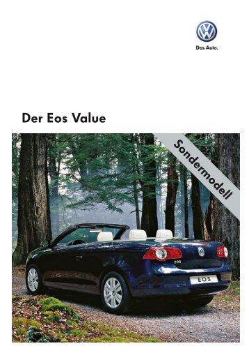 Der Eos Value - sprüngli druck ag