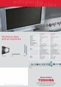 Prospekt plasma (E) - Toshiba - Page 2