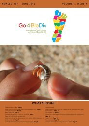 PDF version of the Newsletter - Go4BioDiv