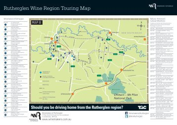 Download Rutherglen Touring Map - Winemakers of Rutherglen