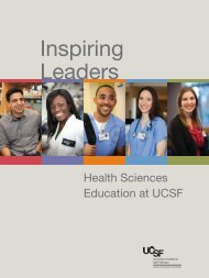 Interprofessional Education - Support UCSF
