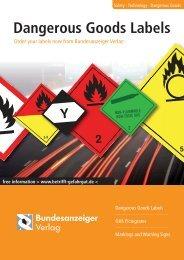 Technology · Dangerous Goods > Dangerous Goods Labels