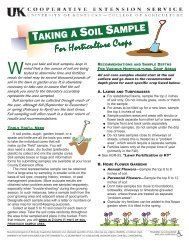 How to take a soil sample - Bullitt County Cooperative Extension ...