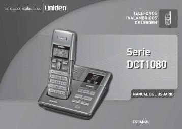 Serie DCT1080 Serie DCT1080