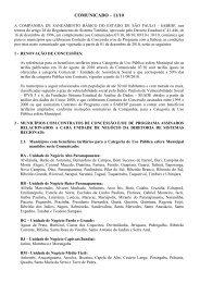 COMUNICADO 11-10 - Sabesp