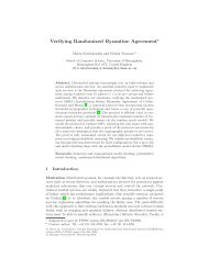 Verifying Randomized Byzantine Agreement* - Quantitative Analysis ...