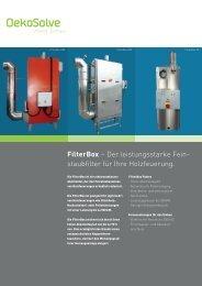 FilterBox – Der leistungsstarke Fein- staubfilter für ... - OekoSolve AG