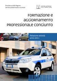 Relazione conclusiva attività - Sistema delle autonomie locali