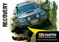 4x4 Recovery Equipment - TJM Products