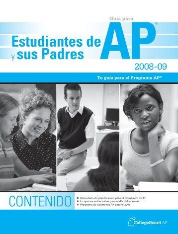 Estudiantes de y sus Padres - College Board