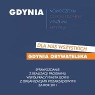 pobierz Raport 2011 - Gdynia moje miasto