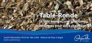 Table-Ronde - Espace Info Energie Pays de la Loire