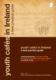 Youth Cafés in Ireland - A Best Practice Guide - UNESCO Child and ...