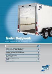 Trailer Bodywork - DUNCAN McINTOSH TRAILERS