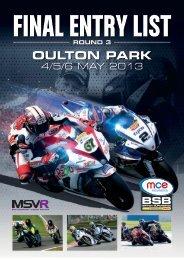 OULTON PARK - MotorSport Vision Racing