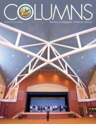 Columns - Fall 2008 - Ranney School