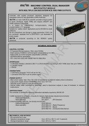 mc²m : MACHINE CONTROL DUAL MANAGER - 3b6.it