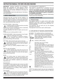 instruction manual for wire welding machine - Cebotechusa.com