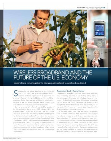 wireless broadband and the future of the us economy - Navigator