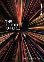 future prospects - Lenovo