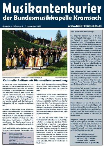 Musikanten - Bundesmusikkapelle Kramsach