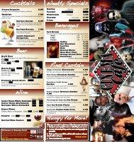 The Kevin Bacon Burger 8.99 - Cinema Cafe