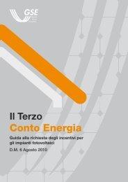 Scarica la Guida al 3° Conto Energia (fonte GSE) - Solarway srl