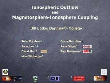 Ionospheric Outflow Magnetosphere-Ionosphere Coupling