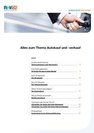 Alles zum Thema Autokauf und -verkauf - R+V24
