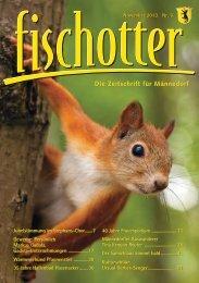 Die Zeitschrift für Männedorf - fischotter.ch