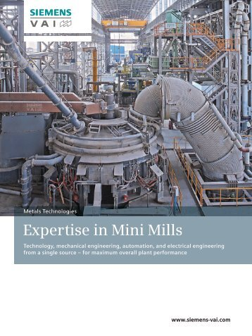 Expertise in Mini Mills - Industry - Siemens