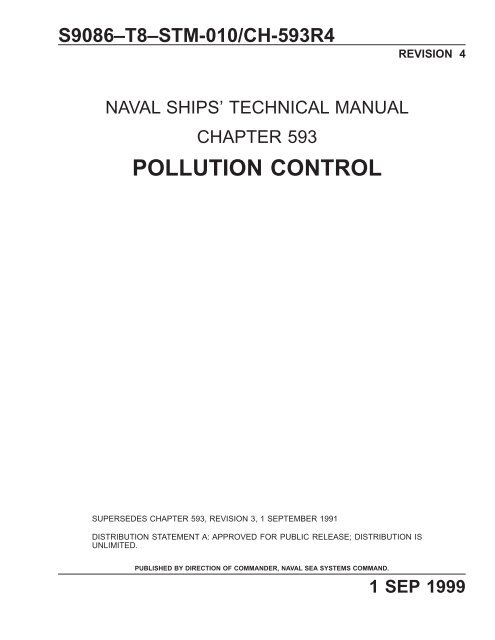 chapter 593 pollution control - Historic Naval Ships Association
