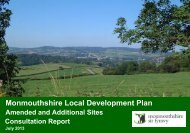Monmouthshire Local Development Plan - Planning Policy