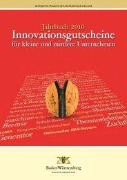Jahrbuch der Innovationsgutscheine 2010 (PDF)