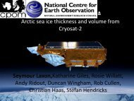 Arctic sea ice thickness and volume from CryoSat-2