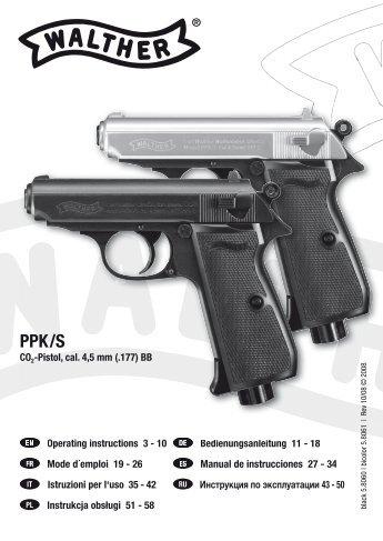 mp5k pdw umarex rh yumpu com Walther PPK Air Gun Umarex Walther PPK CO2