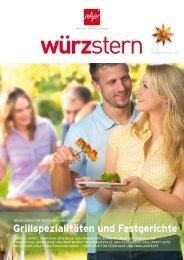 Grillspezialitäten und Festgerichte - Prowana
