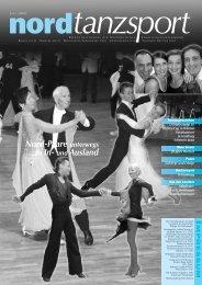 Nord-Paare unterwegs im In - Deutscher Tanzsportverband eV