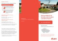 Ceník prodejních cen dodávky zemního plynu v produktu ... - E.ON