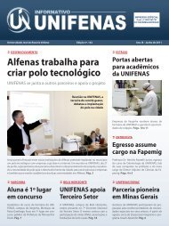 Alfenas trabalha para criar polo tecnológico - Unifenas