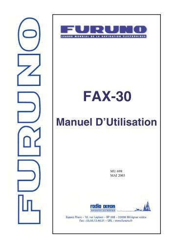 FAX-30 - Furuno