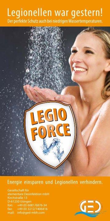 Legionellen war gestern! - Desinfektion mit Aktivsauerstoffsystemen