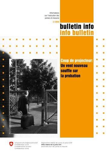 bulletin info 2/2008 - Bundesamt für Justiz - admin.ch