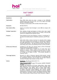 FACT SHEET - Hellas Online