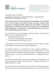 1. Singendes Heim in Deutschland - Singende Krankenhäuser