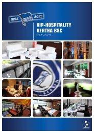VIP-HOSPITALITY HERTHA BSC - Hertha-VIP