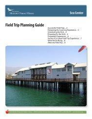 Field Trip Planning Guide - Santa Barbara Museum of Natural History
